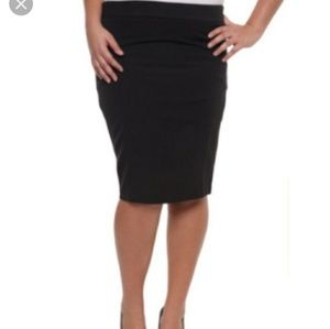 TORRID black pencil skirt size 12